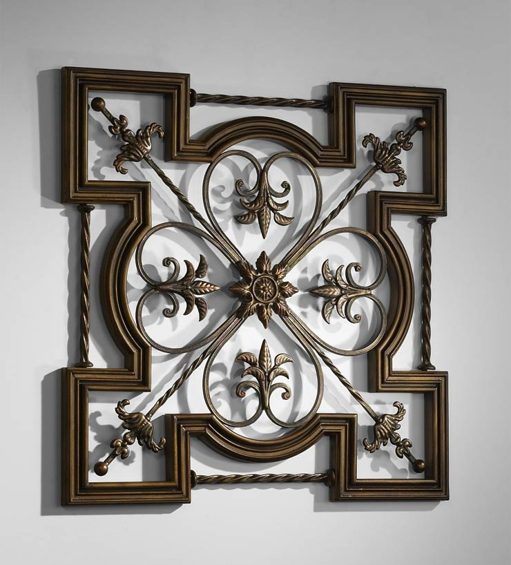 Home Decorators Key Wall Art ~ Greek wrought iron wall art by cyan design