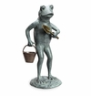 Green Thumb Frog Garden Sculpt by SPI Home