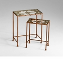 Gunnison Glass Nesting Tables by Cyan Design