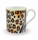 Halcyon Days Animal Print Mug