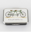 Halcyon Days Bicycle Made For Two Keepsake Box
