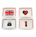 Halcyon Days From London with Love Trinket Tray Set