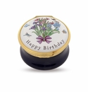 Halcyon Days Happy Birthday Enameled Box