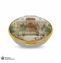 Halcyon Days Kensington Palace Enameled Box
