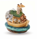Halcyon Days Noahs Ark Bonbonniere Enameled Box