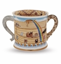 Halcyon Days Noahs Ark Mug Enameled Box