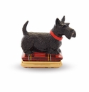 Halcyon Days Scottie Bonbonniere Enameled Box