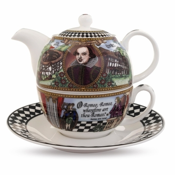 Halcyon Days Shakespeare Tea for One