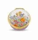 Halcyon Days Sisters are blossoms Enameled Box