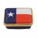 Halcyon Days The Lone Star Flag Enameled Box