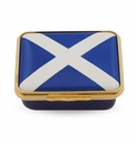 Halcyon Days The Saltire Enameled Box