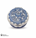 Halcyon Days The Triumph of Delft Enameled Box
