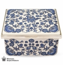 Halcyon Days The Triumph of Delft Musical Box Enameled Box