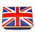 Halcyon Days The Union Flag Enameled Box