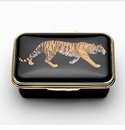 Halcyon Days Tiger Box Keepsake Box