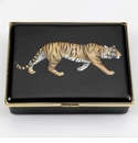 Halcyon Days Tiger  Keepsake Box