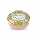 Halcyon Days Wonderful Daughter Keepsake Box