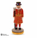 Halcyon Days Yeoman Warder Bonbonniere Enameled Box