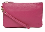 Handbag Butler Mighty Purse (Phone Charger with Apple and Micro USB Adaptors) - Poppy Pink Wristlet