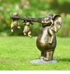 Hang In There Garden Sculpture by SPI Home