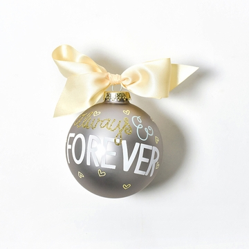 Happy Everything Glass Ornament - Always & Forever
