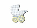 Happy Everything Baby Carriage Big Attachment