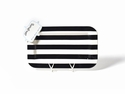Happy Everything Black Stripe Entertaining Mini Platter With Now Serving Mini Attachment