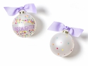 Happy Everything Greatest Granddaughter Bright Confetti Ornament