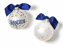 Happy Everything Greatest Grandson Bright Confetti Ornament