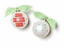 Happy Everything Happy Birthday Jesus Banner Ornament