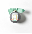 Happy Everything Glass Ornament - Home Sweet Home