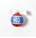 Happy Everything Glass Ornament - I'm The Big Brother Striped