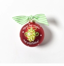 Happy Everything Glass Ornament - Meet Me Under the Mistletoe 2