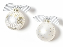 Happy Everything Merry & Bright Metallic Confetti Ornament