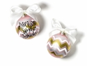 Happy Everything Metallic Bargello Mother of Bride Ornament