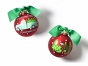 Happy Everything O Christmas Tree Farm Ornament