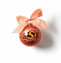 Happy Everything Glass Ornament - OSU Logo Ornament