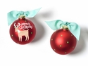 Happy Everything Reindeer Ornament