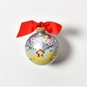 Happy Everything Glass Ornament - Rejoice Nativity