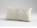 Harlequin Shine Green Decorative Pillow by Cyan Design