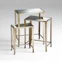 Harrow Bronzed Iron Nesting Tables by Cyan Design