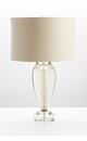 Hatie Mercury Glass Table Lamp by Cyan Design