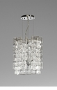Havilland Clear Glass Pendant Light by Cyan Design