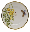 "Herend American Wildflower Bread & Butter Plate  6""D - Meadow Lily"