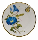 "Herend American Wildflower Bread & Butter Plate  6""D - Morning Glory"