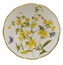 "Herend American Wildflower Dinner Plate  10.5""D - Evening Primrose"