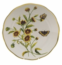 "Herend American Wildflower Dinner Plate  10.5""D - Indian Blanket Flower"