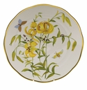 "Herend American Wildflower Dinner Plate  10.5""D - Meadow Lily"
