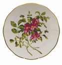 "Herend American Wildflower Dinner Plate  10.5""D - Prairie Rose"