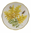 "Herend American Wildflower Dinner Plate  10.5""D - Tall Goldenrod"
